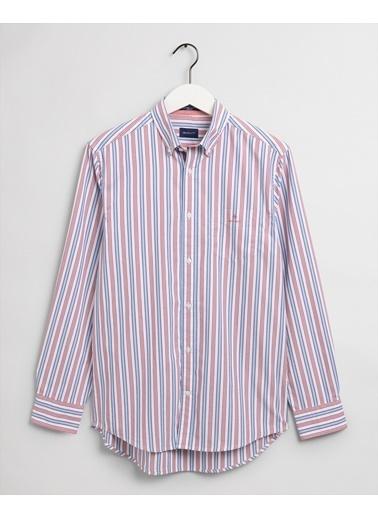 Gant Erkek Regular Fit Gömlek Kırmızı